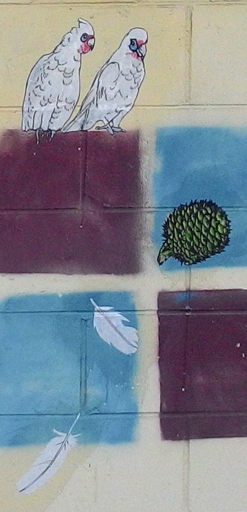 Elysha Rei Paste-up Birds