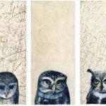 Three Wise Owls artwork