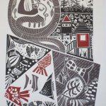 The Singing Ship, Emu Park. On Great Barrier Reef artwork