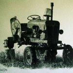 Three Wheeled Tractor artwork