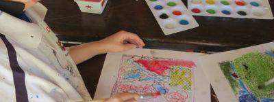 Printmaking Incursion at Avondale State School