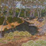 Branch Creek Chinchilla by Helen Dennis, 2020 - Queensland Regional Art Awards Entry, 2020