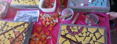 Small Schools Outcome: Mosaic making at Builyan State School
