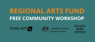 Free Regional Arts Fund workshops coming to Central and Far North Queensland