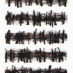 Black Tree Caligraphy I by Rose Rigley, 2020 - Queensland Regional Art Awards Entry, 2020