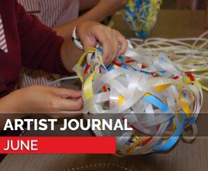 artist journal june