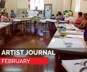 blog - artist journal