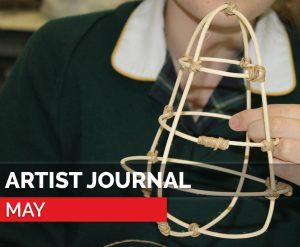 blog - artist journal may