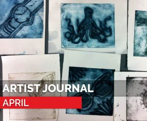 blog featured image - artist journal april