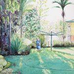 Iconic Suburban Summer Rituals: Nana's Back Garden