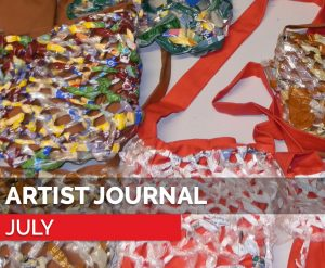 july - artist journal